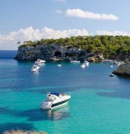 Mallorca Balearen Bucht von Cala Portal Vells