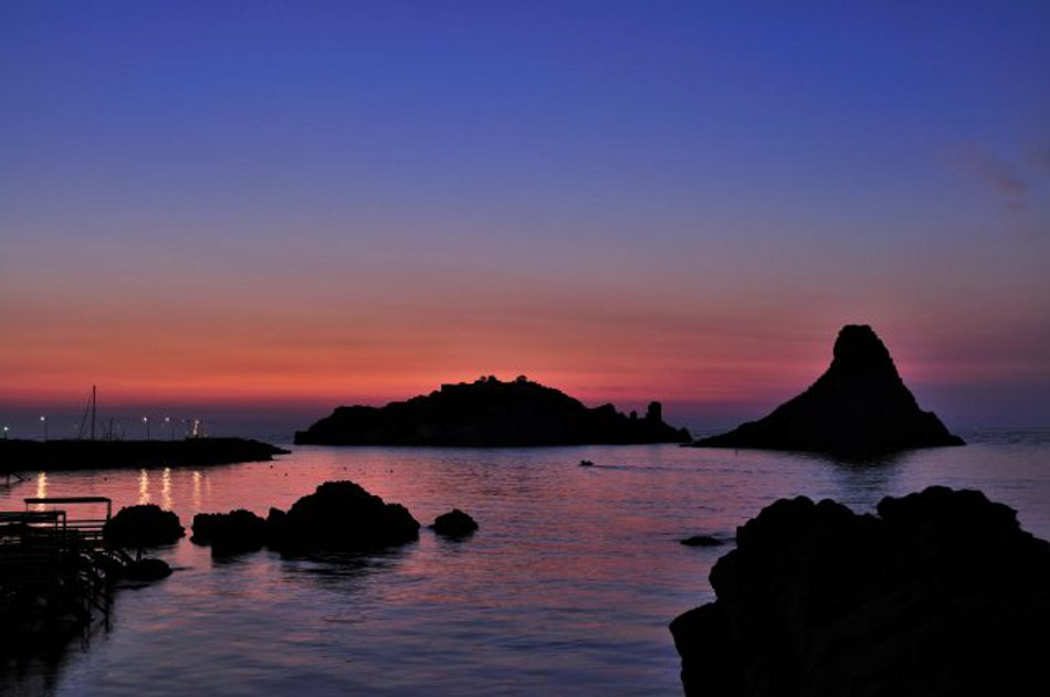 Urlaub auf der Mittelmeerinsel Sizilien