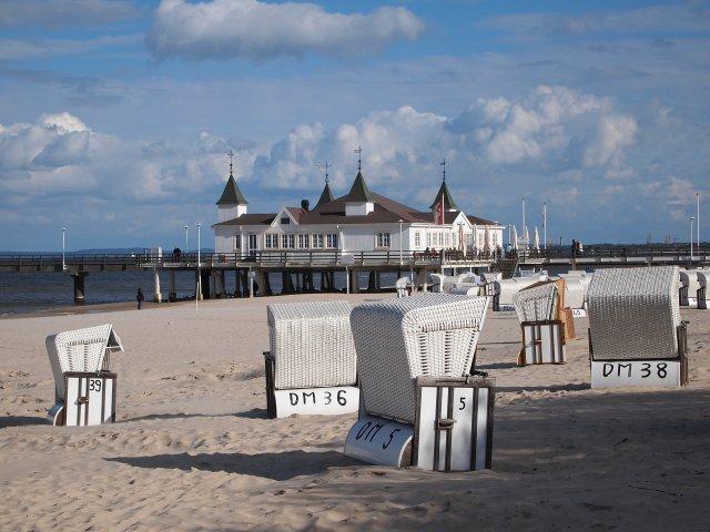 Seebrücke Ahlbeck - Ostseeinsel Usedom