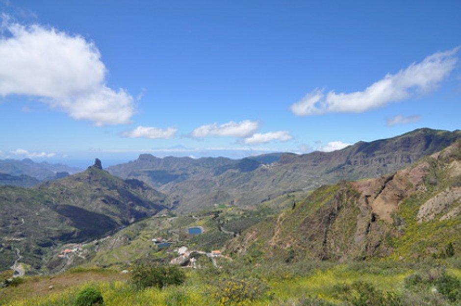 Bergpanorama auf Gran Canaria