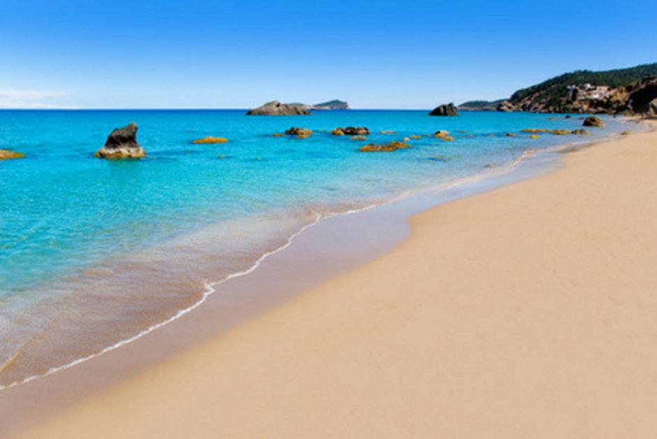 Sonne satt auf den Balearen genießen