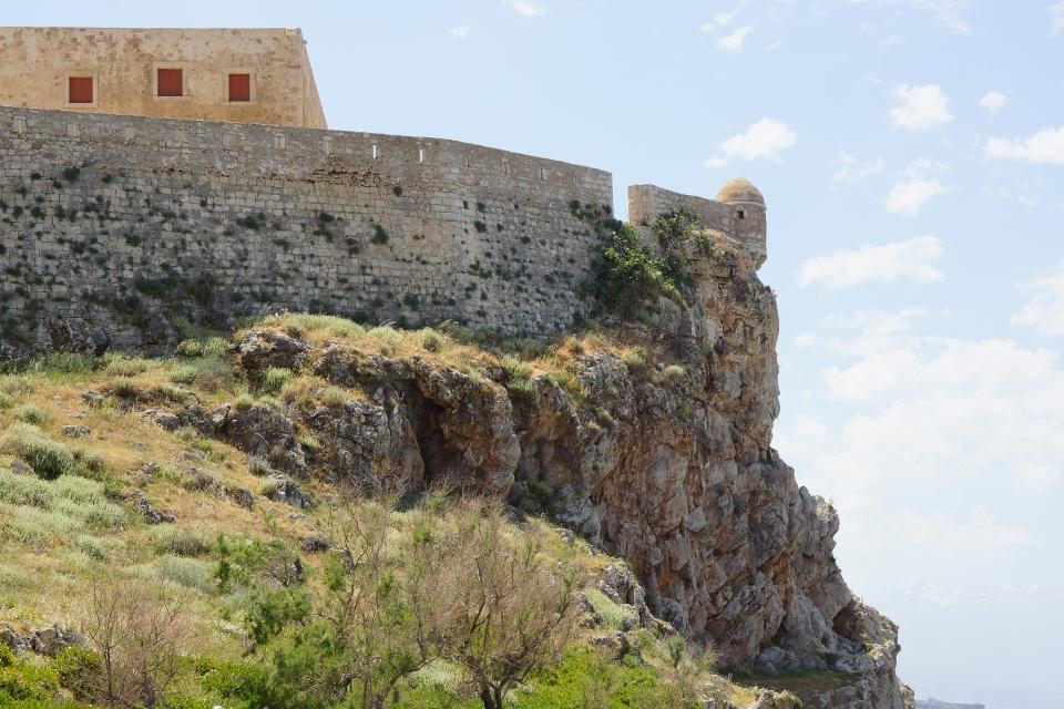 Festung von Rethymnon im Norden Kretas