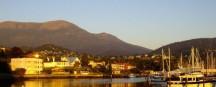 Sonnenuntergang auf Tasmanien