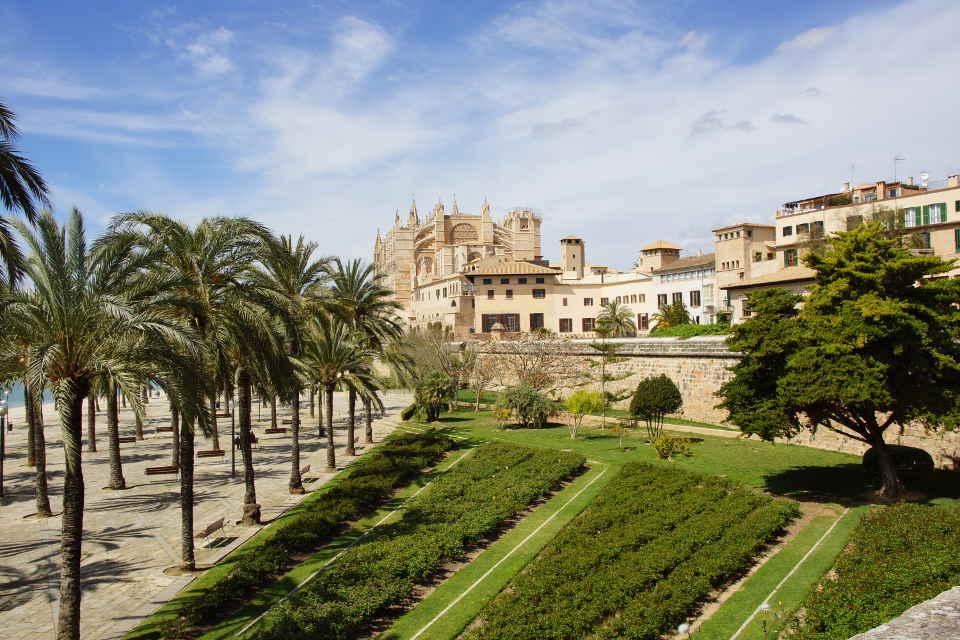Festungsanlage und Kathedrale Palma de Mallorca