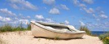 Neu an der Ostseeküste: Im neuen Strandkorb-Modell die Nacht am Strand verbringen