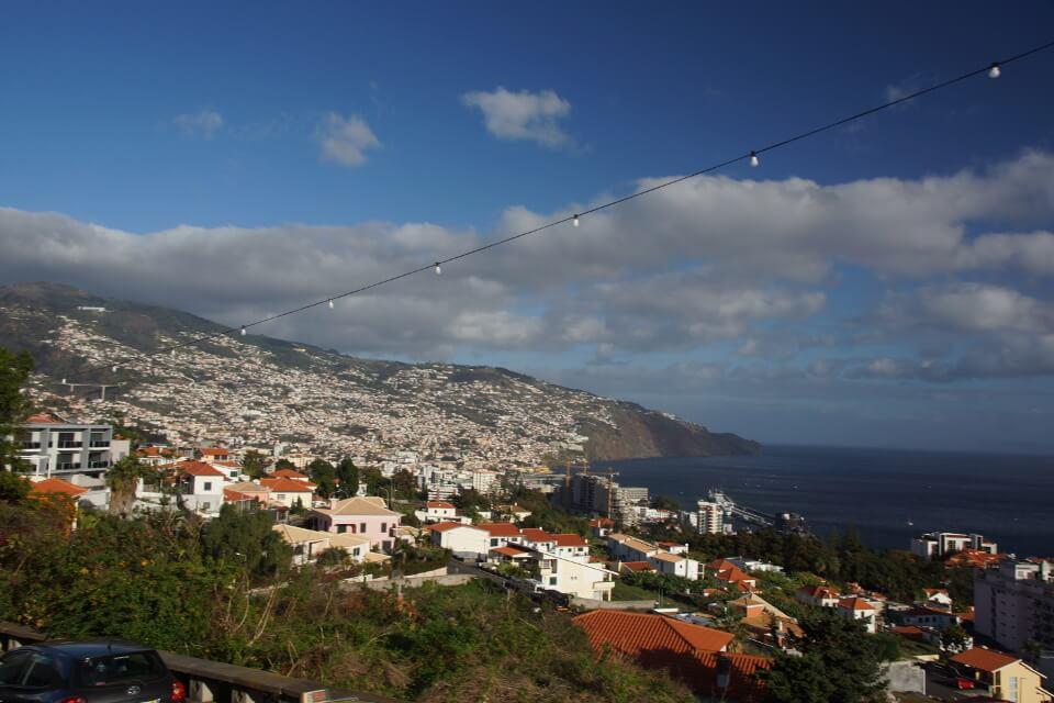 Blick auf die Haupstadt Funchal